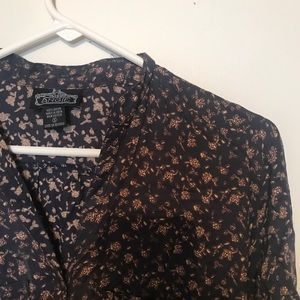 Angie Floral Shirt Dress